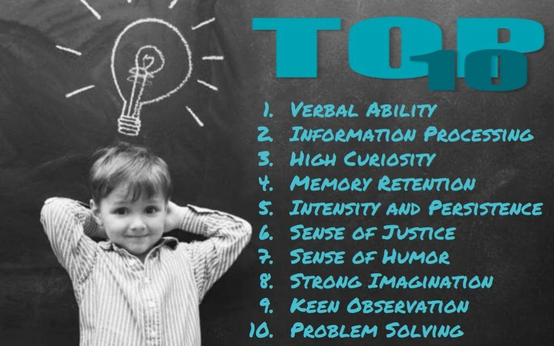 Top 10 Signs of a Gifted Child