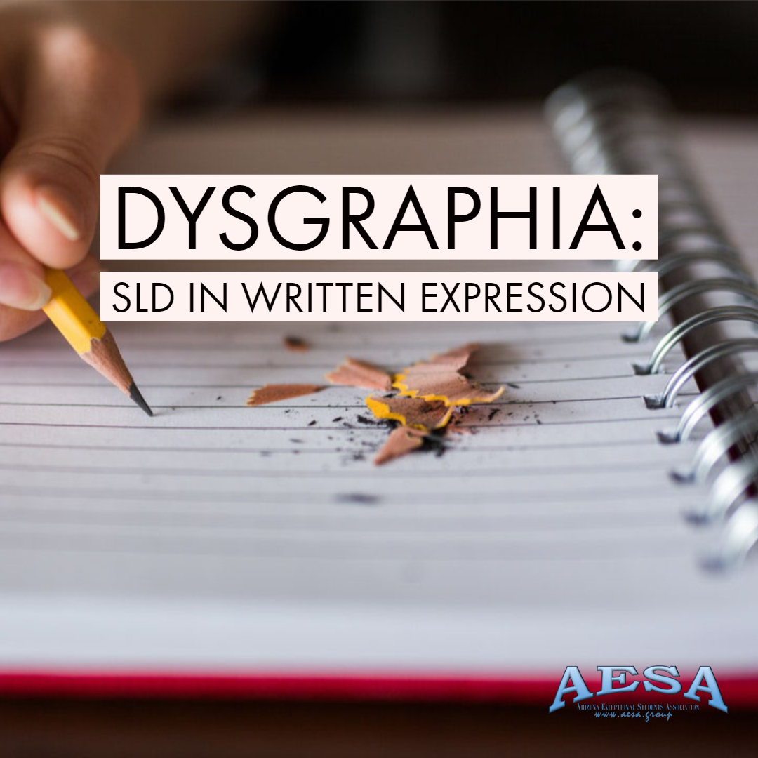 Dysgraphia Specific Learning Disability in Written Expression