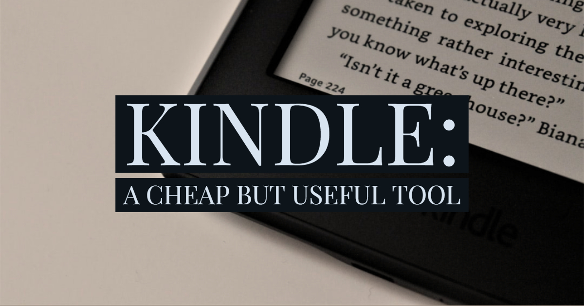 Kindle Cheap Useful Tool