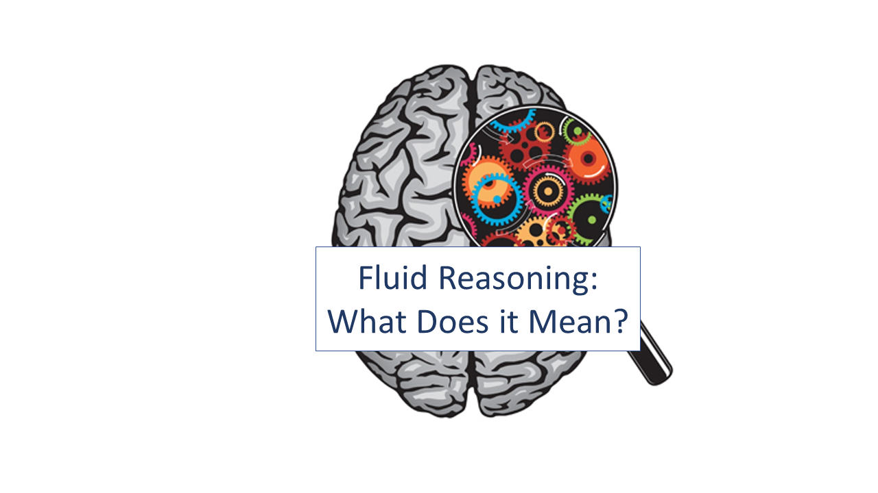 Fluid Reasoning What Does It Mean