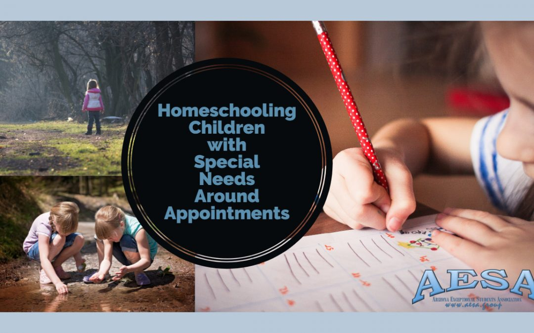 Homeschooling Children with Special Needs Around Appointments