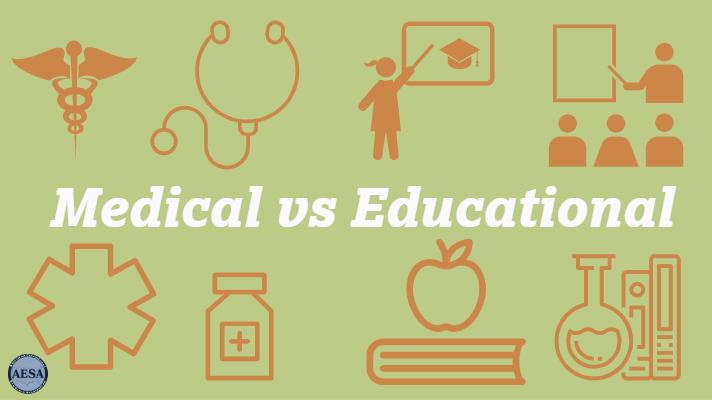 Medical Versus Educational