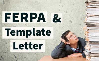 FERPA Template Letter